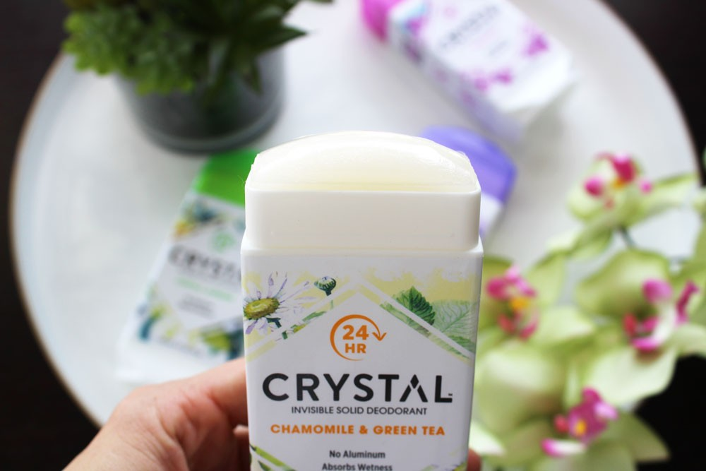 Crystal cruelty free deodorant review by Los Angeles beauty blog My Beauty Bunny