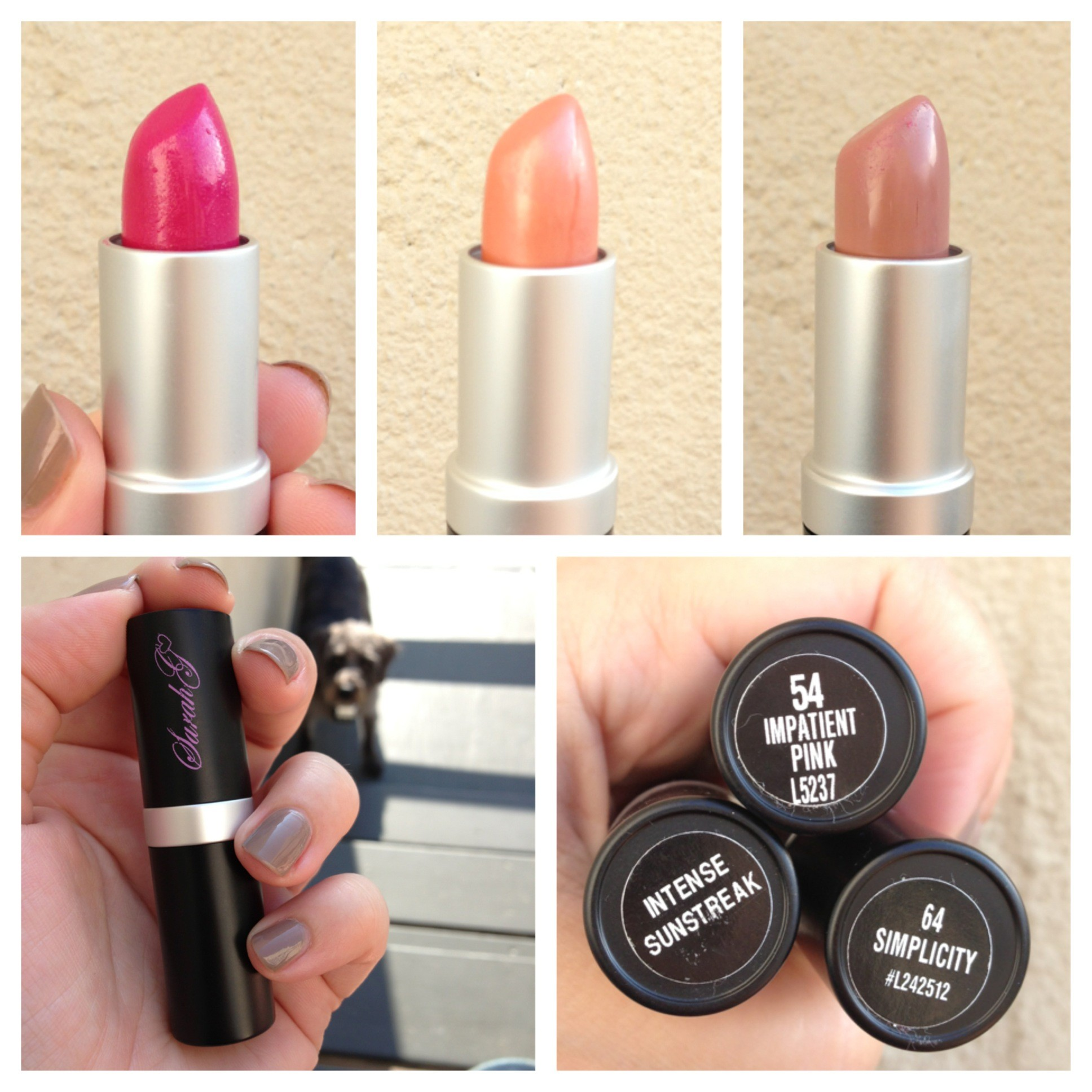 Sarah G Lipstick Review