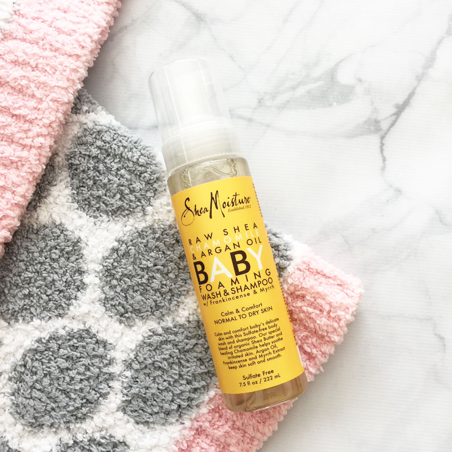 SheaMoisture Baby foaming wash review by My Beauty Bunny