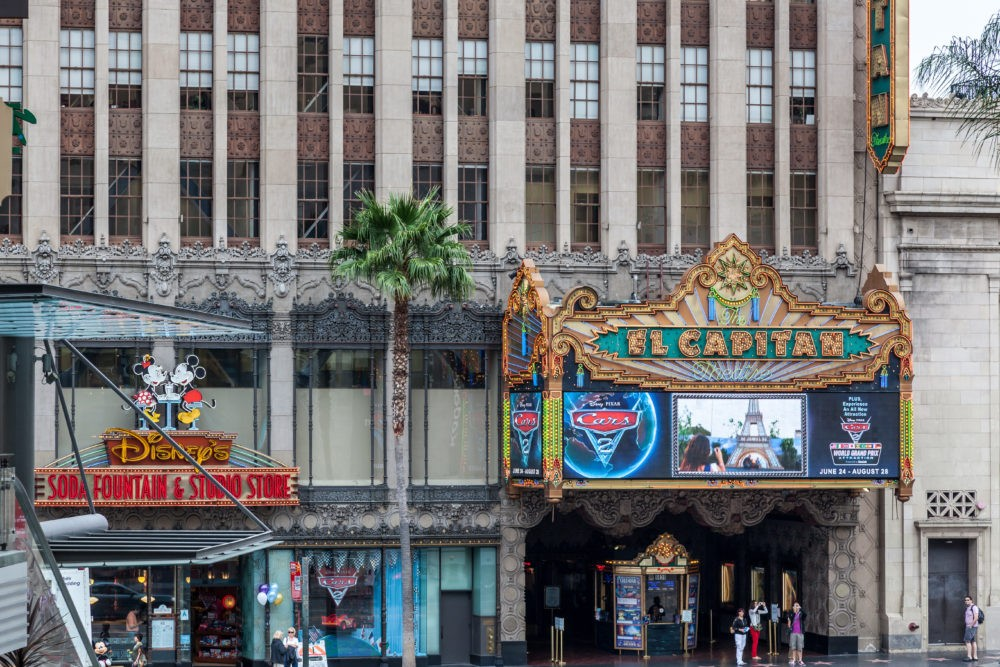 El Capitan Theatre Hollywood - Free Things to do in Los Angeles featured by popular Los Angeles Blogger, My Beauty Bunny