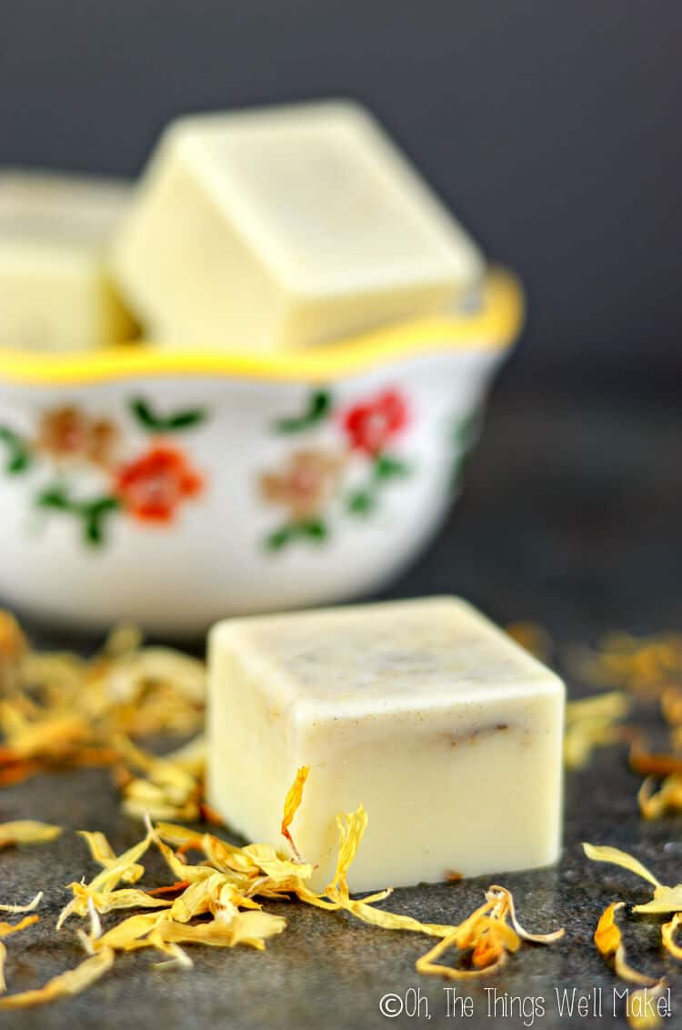 DIY Dandelion Oil Lotion Bar - DIY Homemade Lotion and Massage Bar Recipes featured by popular Los Angeles cruelty free beauty blogger, My Beauty Bunny