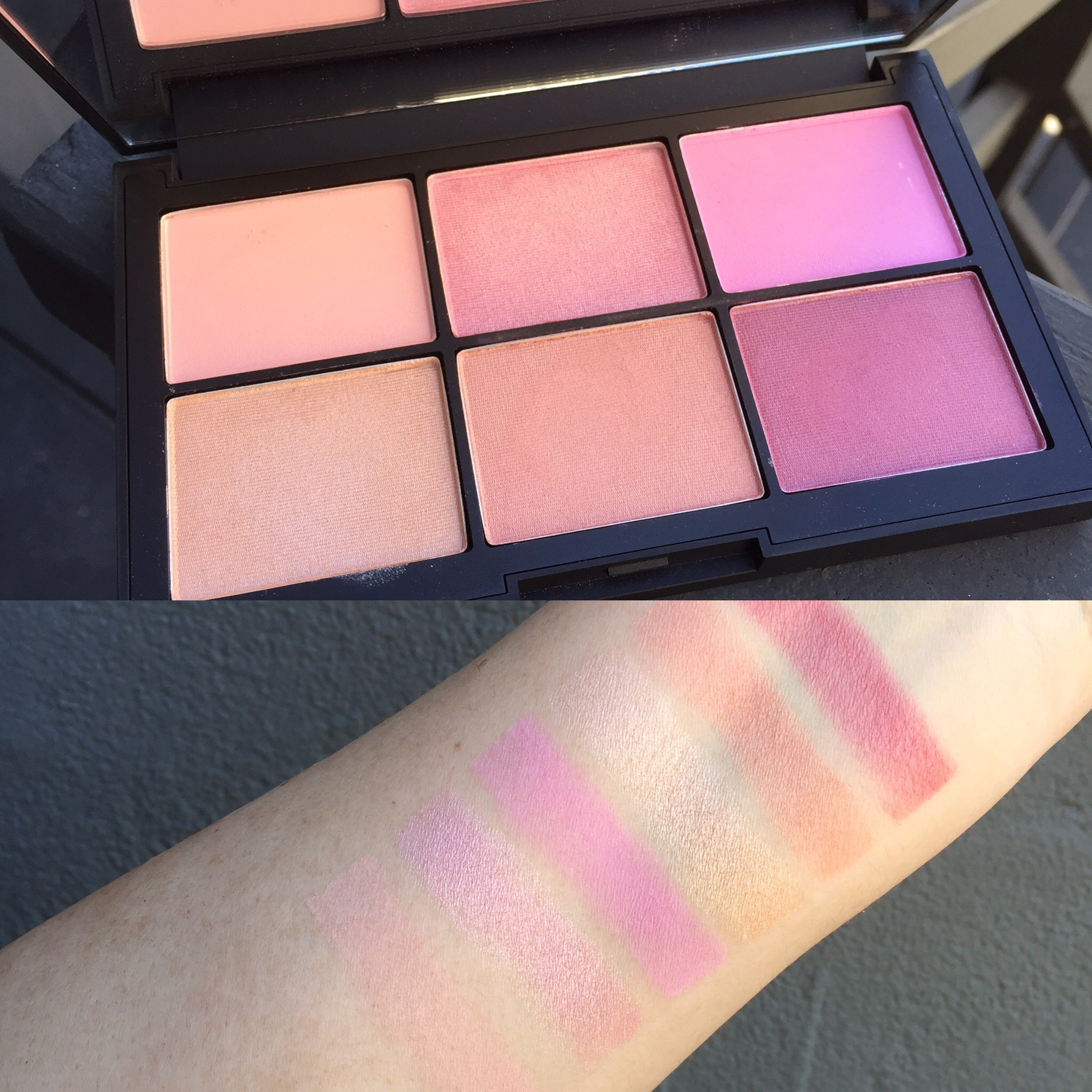 NARS Unfiltered II Blush Palette