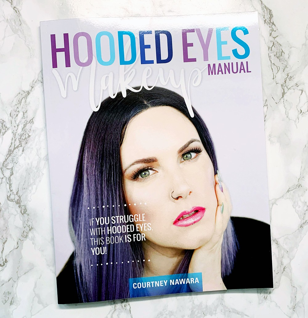 Hooded Eyes Makeup Manual Book by Phyrra AKA Courtney Nawara