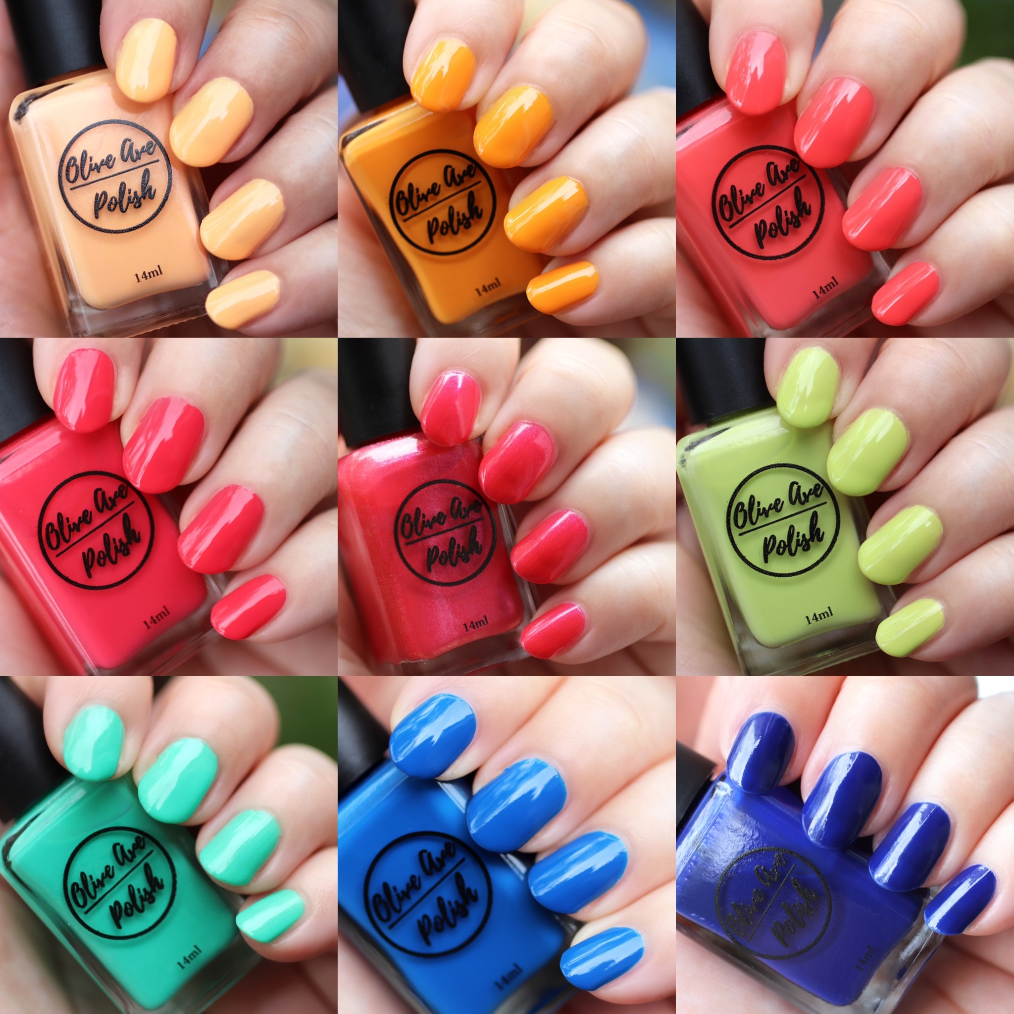 Olive Ave cruelty free and vegan summer nail polish 2021