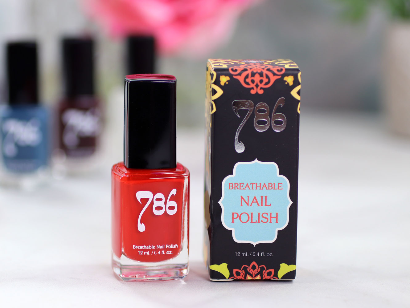 786 Cosmetics Breathable Cruelty Free and Vegan Nail Polish Review and Swatches - Marrakech
