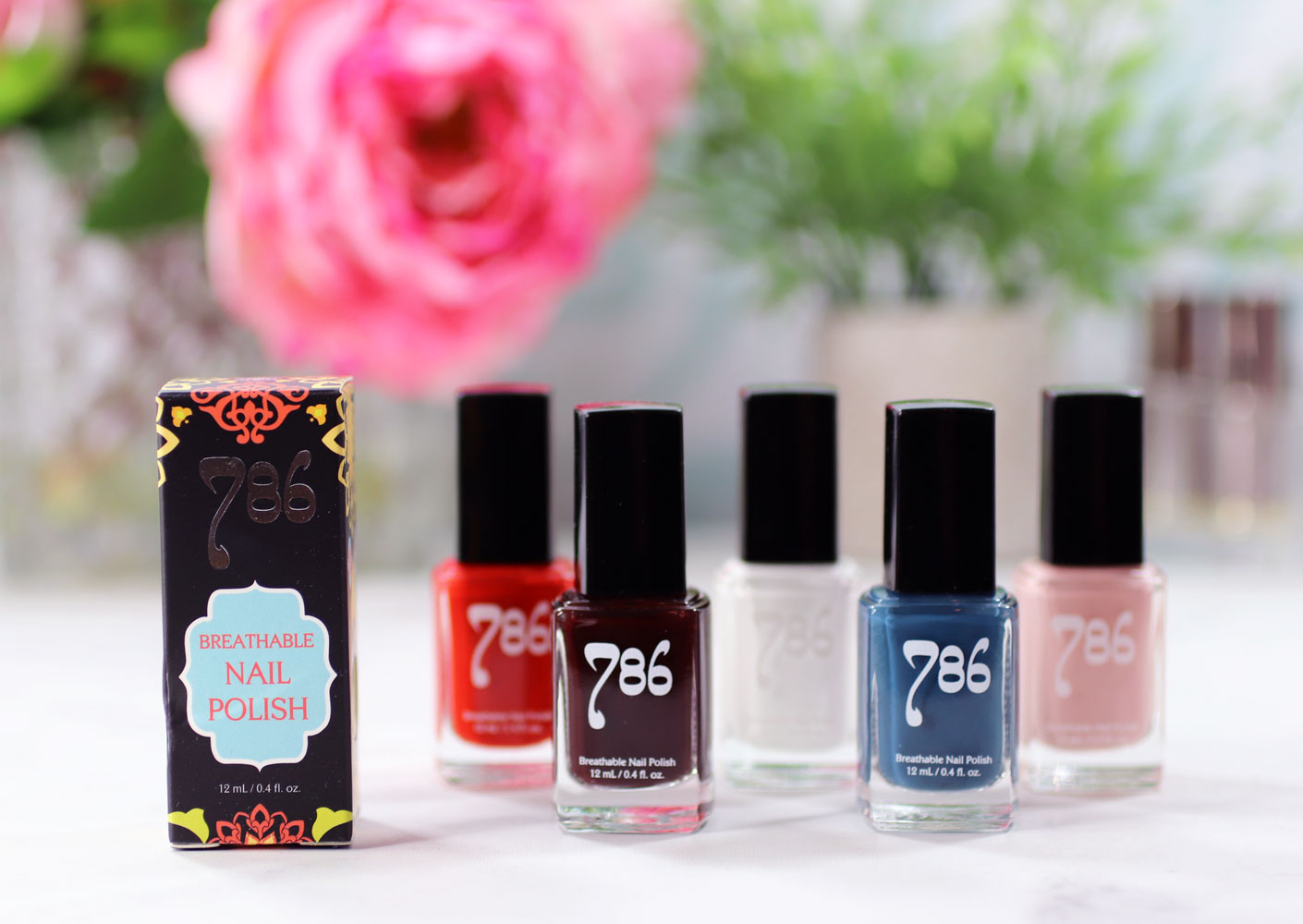 786 Cruelty Free and Breathable Nail Polish Review and Swatches