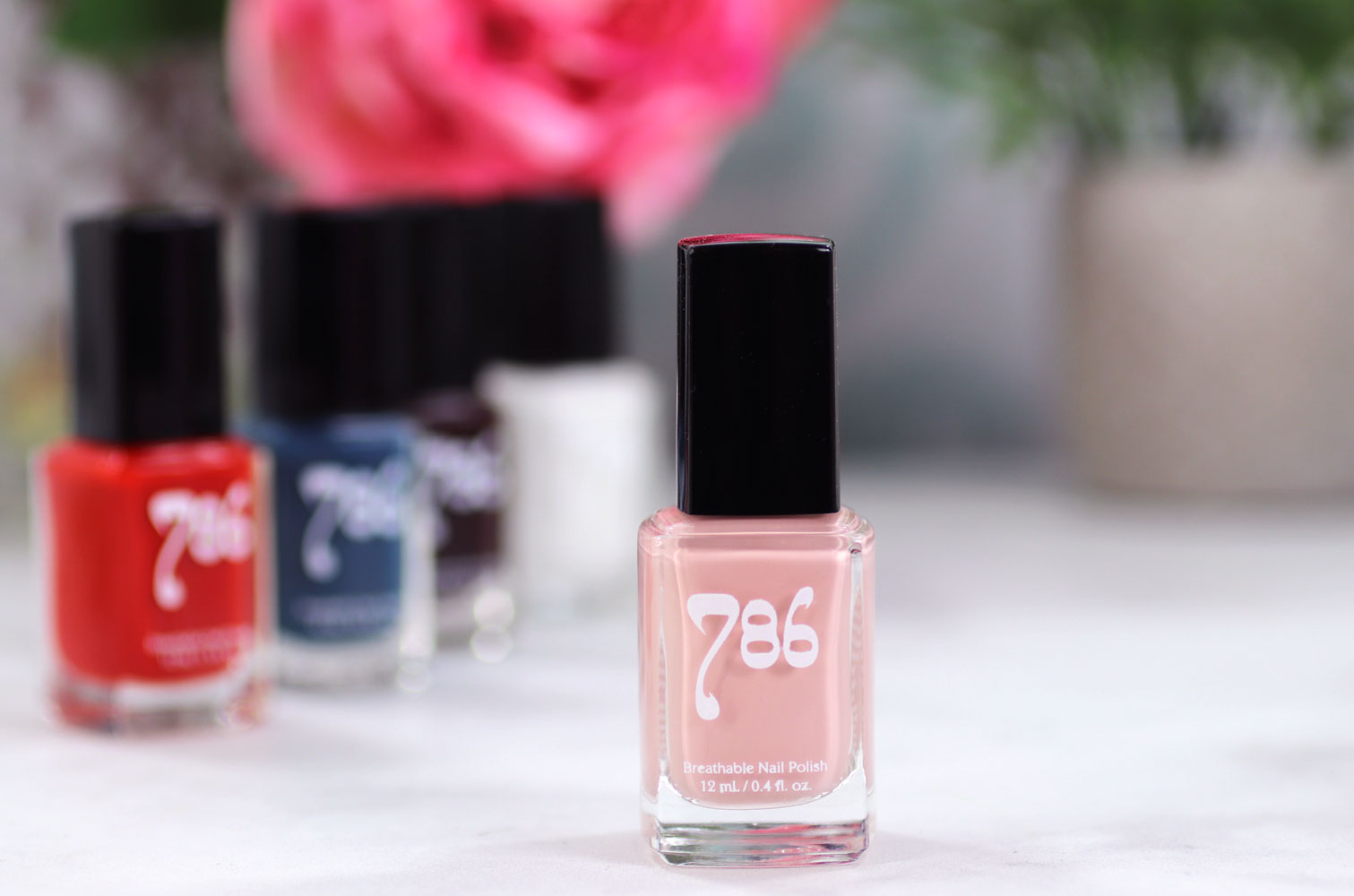 786 Cosmetics Breathable Cruelty Free and Vegan Nail Polish Review and Swatches - Dakar