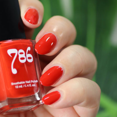 Cruelty Free Breathable Nail Polish from 786 Cosmetics