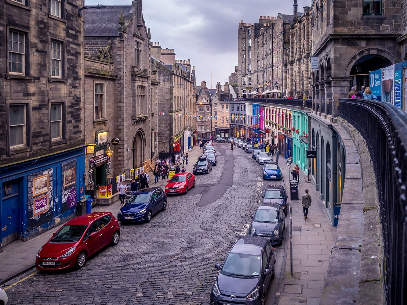 Best places to take Instagram photos in Edinburgh Scotland by travel blogger My Beauty Bunny - Best Photo Spots in Edinburgh that are Instagram Friendly featured by popular Los Angeles travel blogger, My Beauty Bunny
