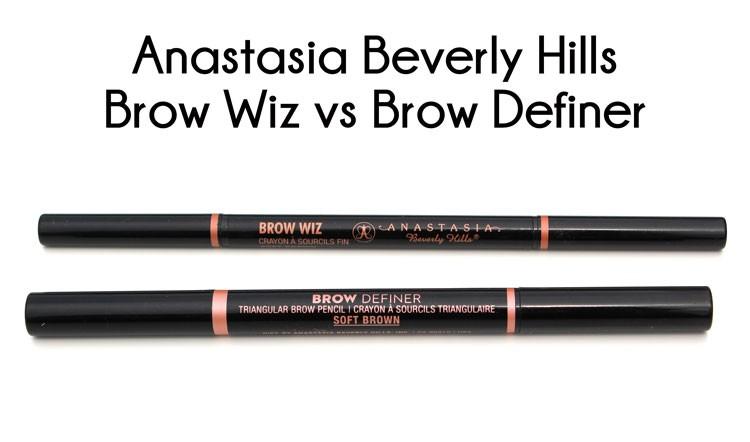 ABH Brow Wiz vs Brow Definer