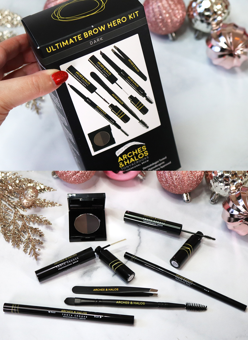 Cruelty Free Holiday Gift Guide 2020 - Arches and Halos Ultimate Brow Hero Kit