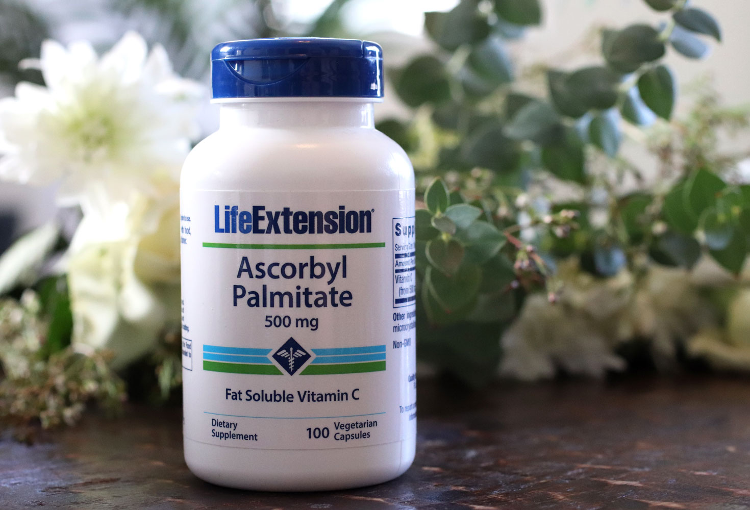 Ascorbyl palmitate fat soluble Vitamin C by Life Extension