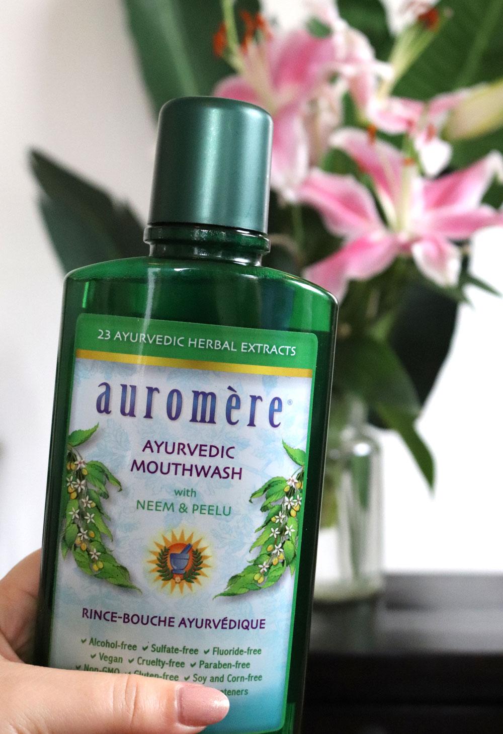 Auromeric Ayurveda mouthwash at iHerb
