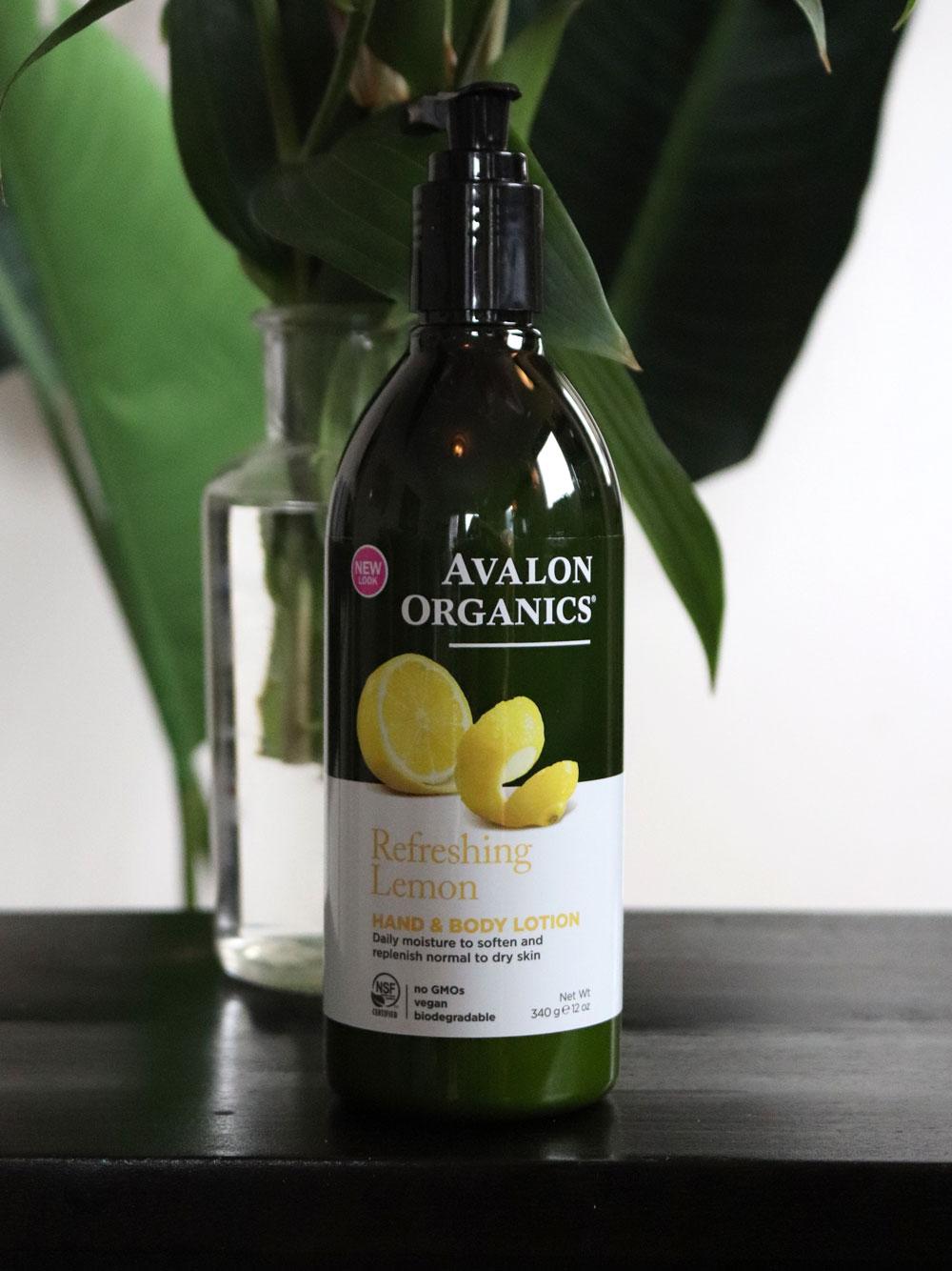 Avalon Organics hand and body lotion at iHerb