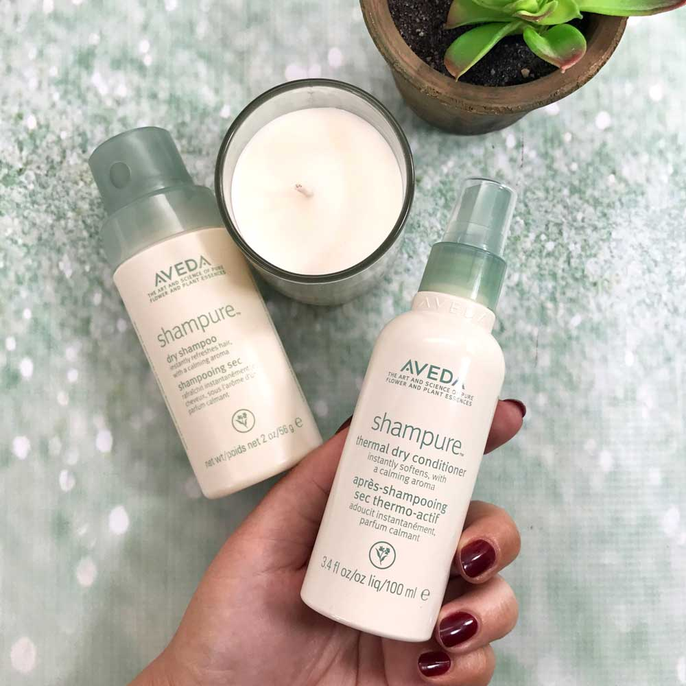 Aveda Shampure Dry Conditioner and Dry Shampoo