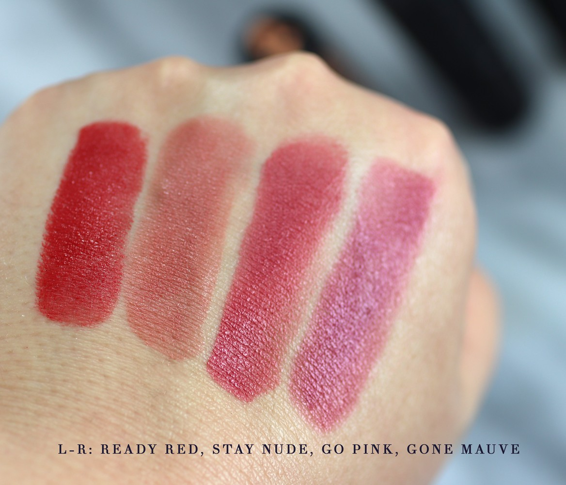 Azelique Lipstick Swatches - Review of Azelique Cosmetics by Los Angeles cruelty free beauty blogger My Beauty Bunny