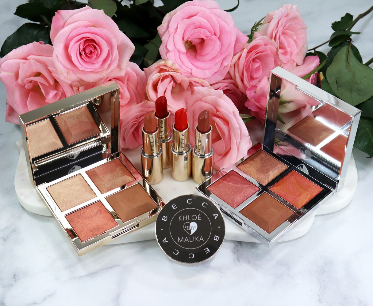BECCA BFFs Khloe Kardashian and Malika Haqq Collection Review and Swatches