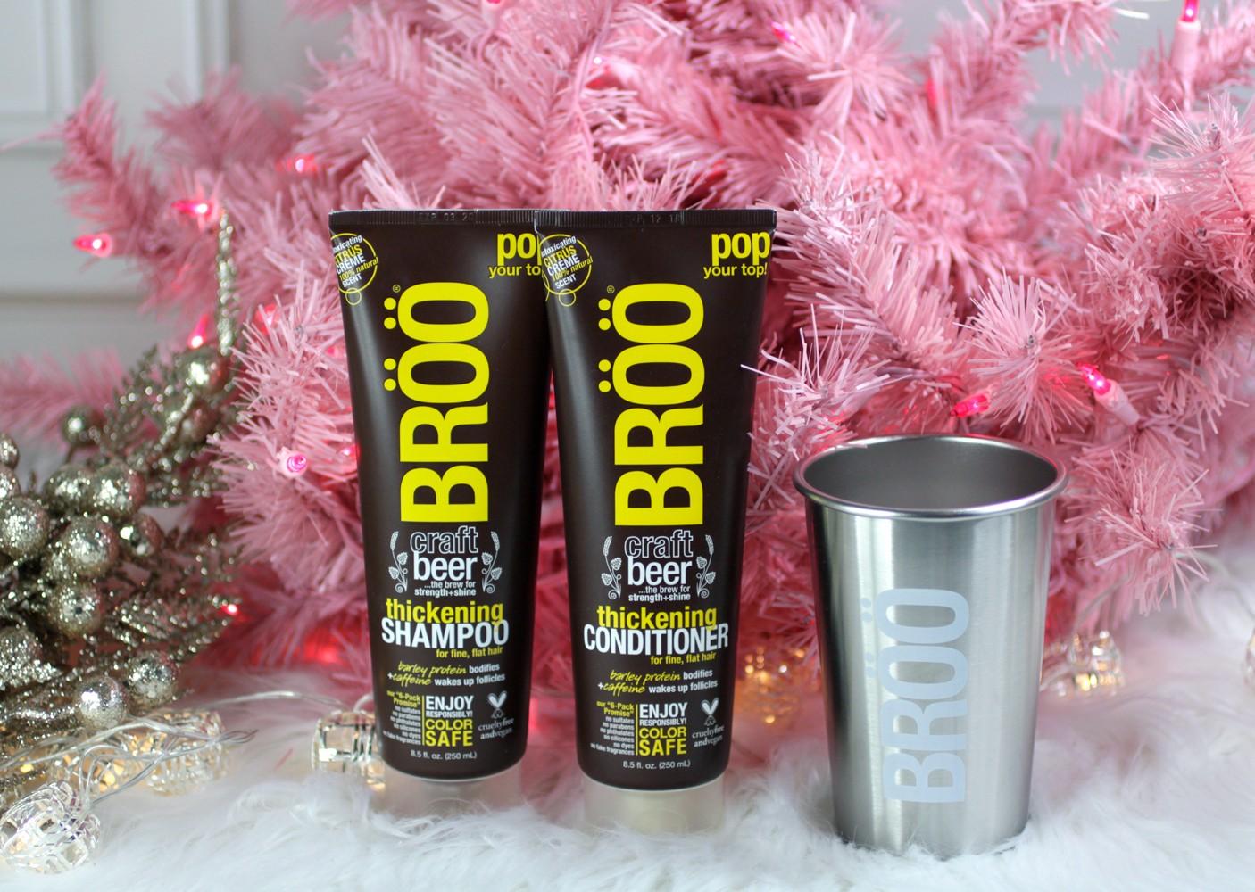 BROO Beer Shampoo Holiday Gift Set