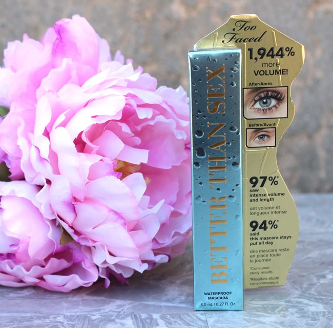 Better Than Sex Waterproof Mascara Too Faced - Too Faced Better Than Sex Waterproof Mascara by popular Los Angeles beauty blogger My Beauty Bunny