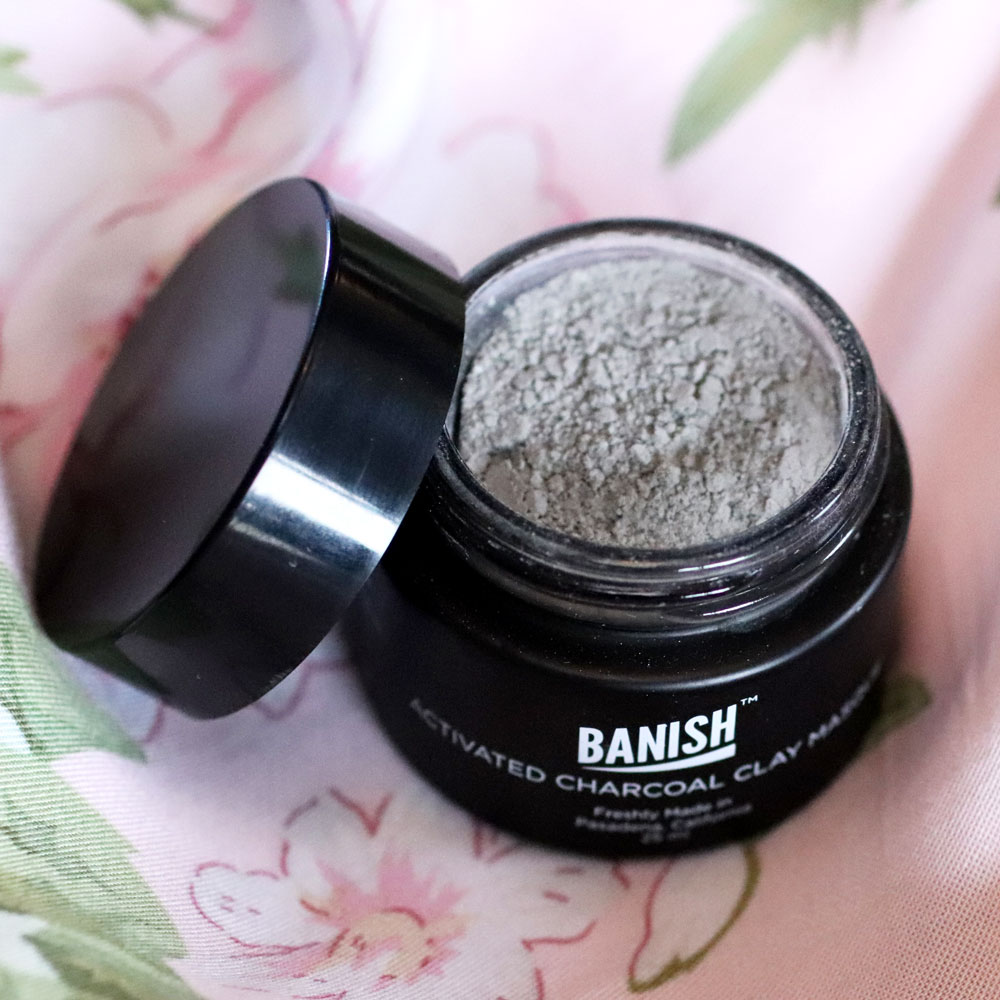 Banish Activated Charcoal for Acne Mask