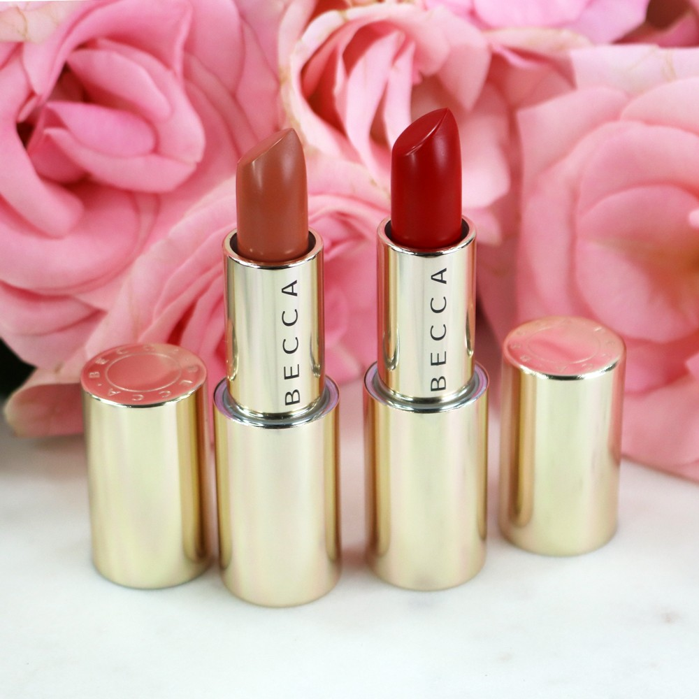 BECCA BFFs Malika Haqq Ultimate Lipstick Love - Yours Truly and Brave