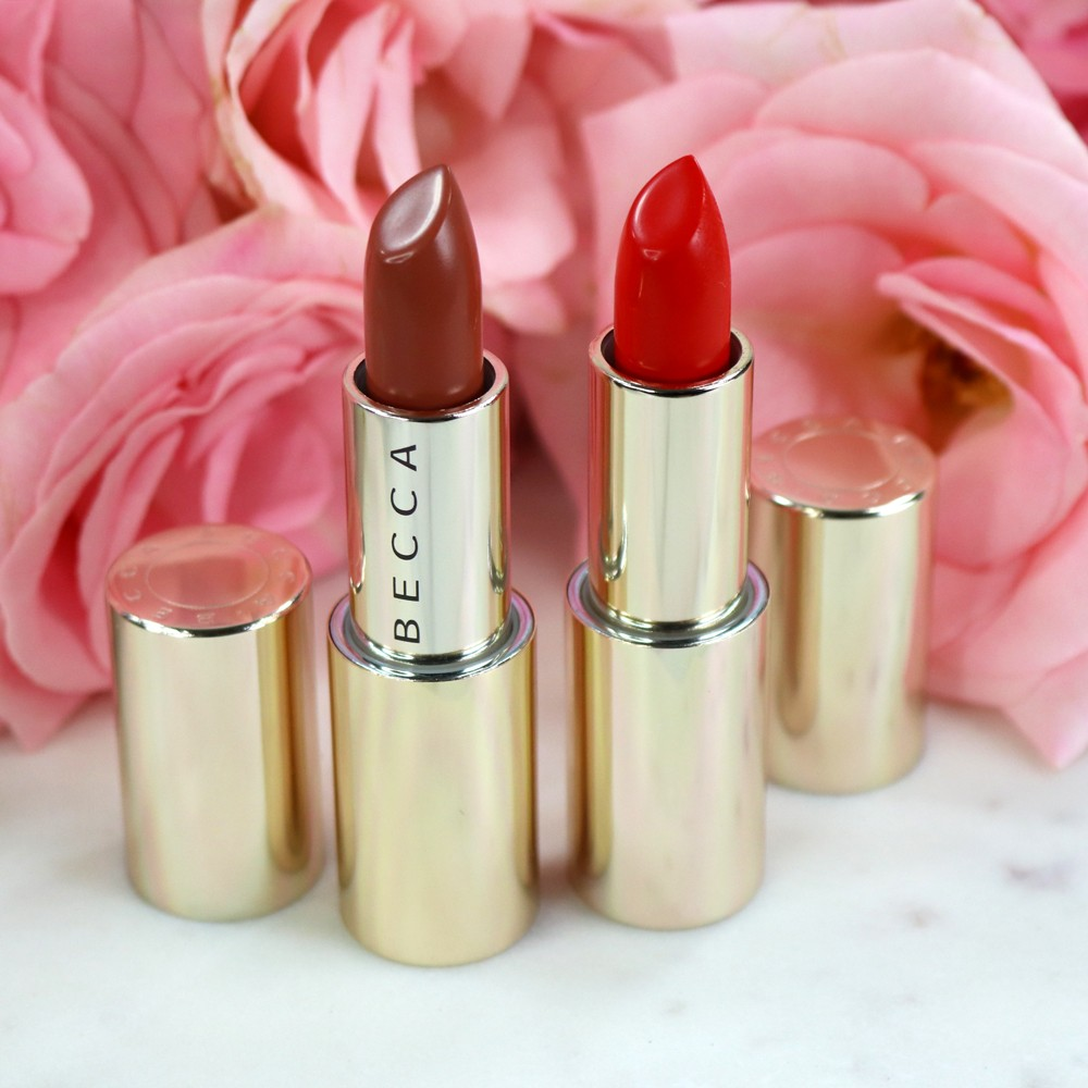 BECCA BFFs Ultimate Lipstick Love Khloe Kardashian - Hot Tamale and Cupid's Kiss