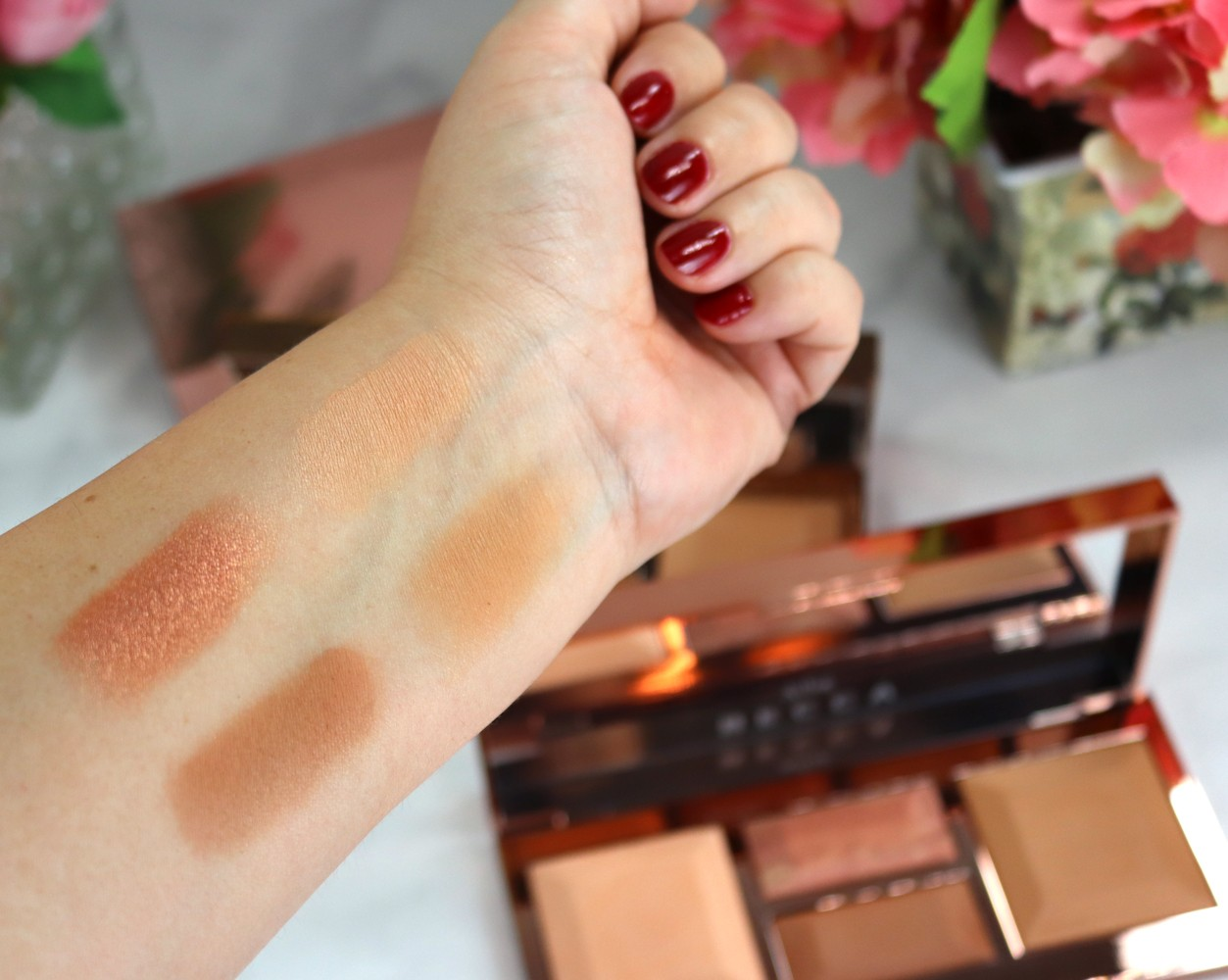 Becca Be a Light Medium to Deep Palette Review - New Sephora Favorites from Urban Decay, Becca and Hourglass featured by popular Los Angeles cruelty free beauty blogger, My Beauty Bunny