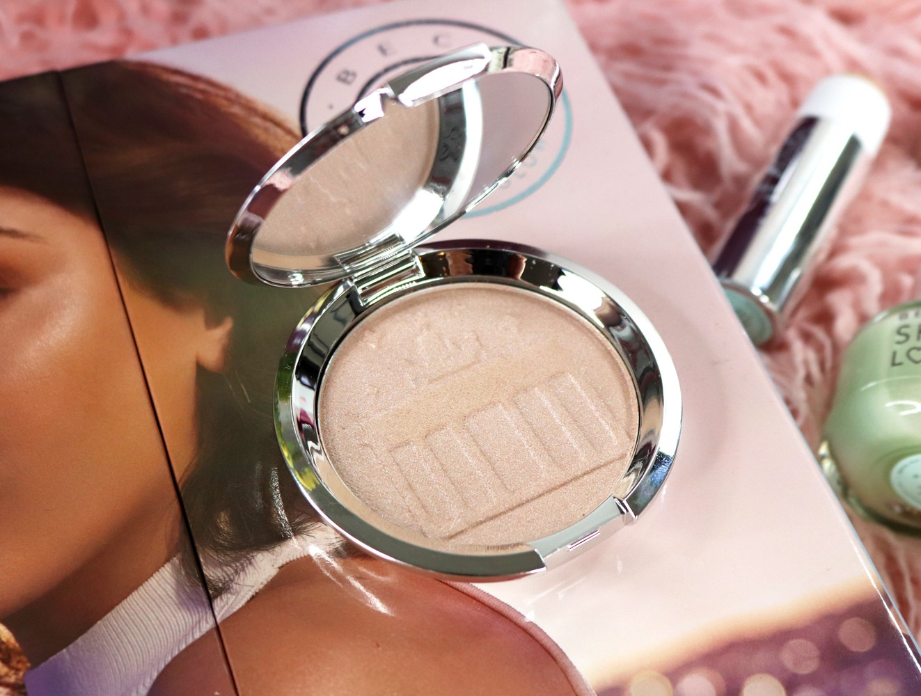 Becca x Hatrice Schmidt Highlighter Review and Swatches