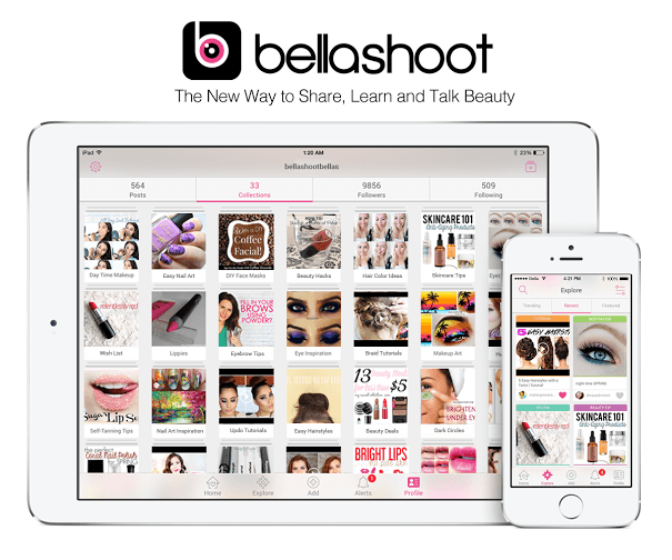 bellashoot for ipad iphone mybeautybunny