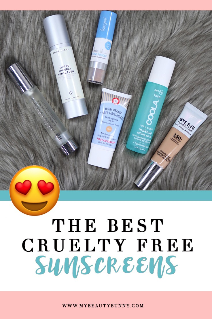 Best Cruelty Free Sunscreen for Your Face by popular Los Angeles cruelty free beauty blogger My Beauty Bunny