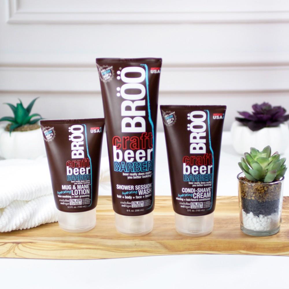 Broo Cruelty Free Beer Shampoo