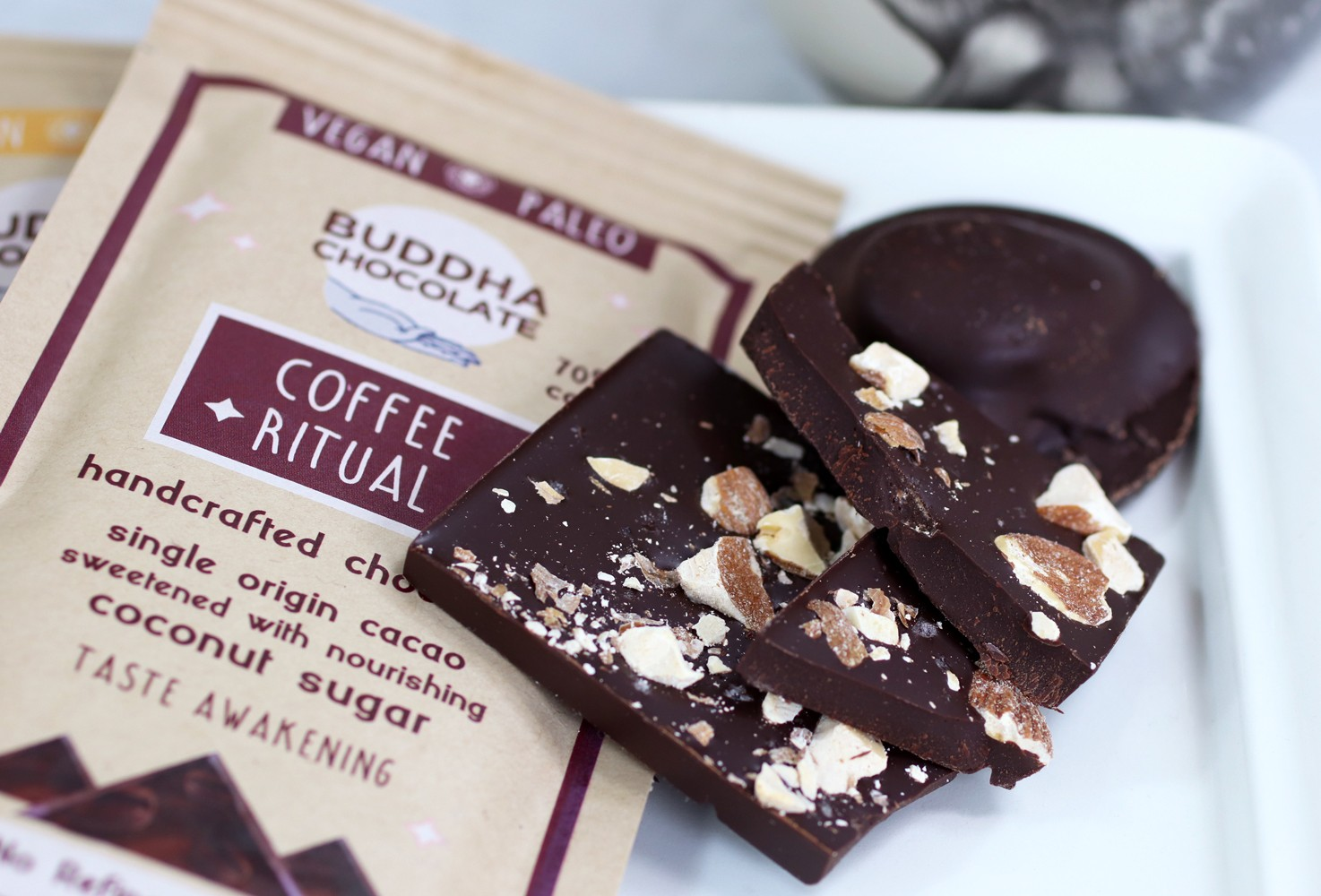 Buddha Chocolate is the BEST paleo and vegan chocolate ever - review by health blogger My Beauty Bunny