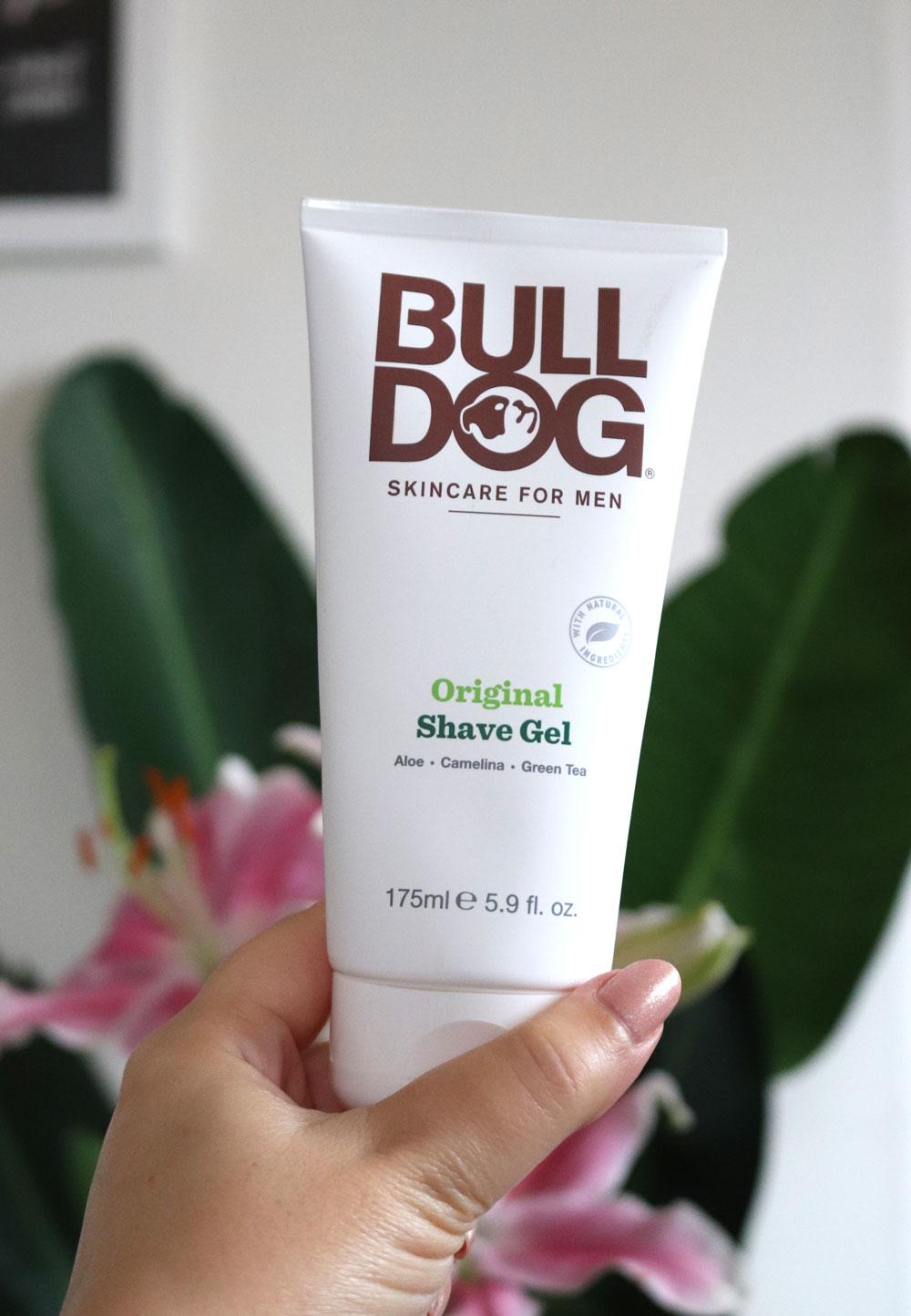 Bulldog shaving gel at iHerb
