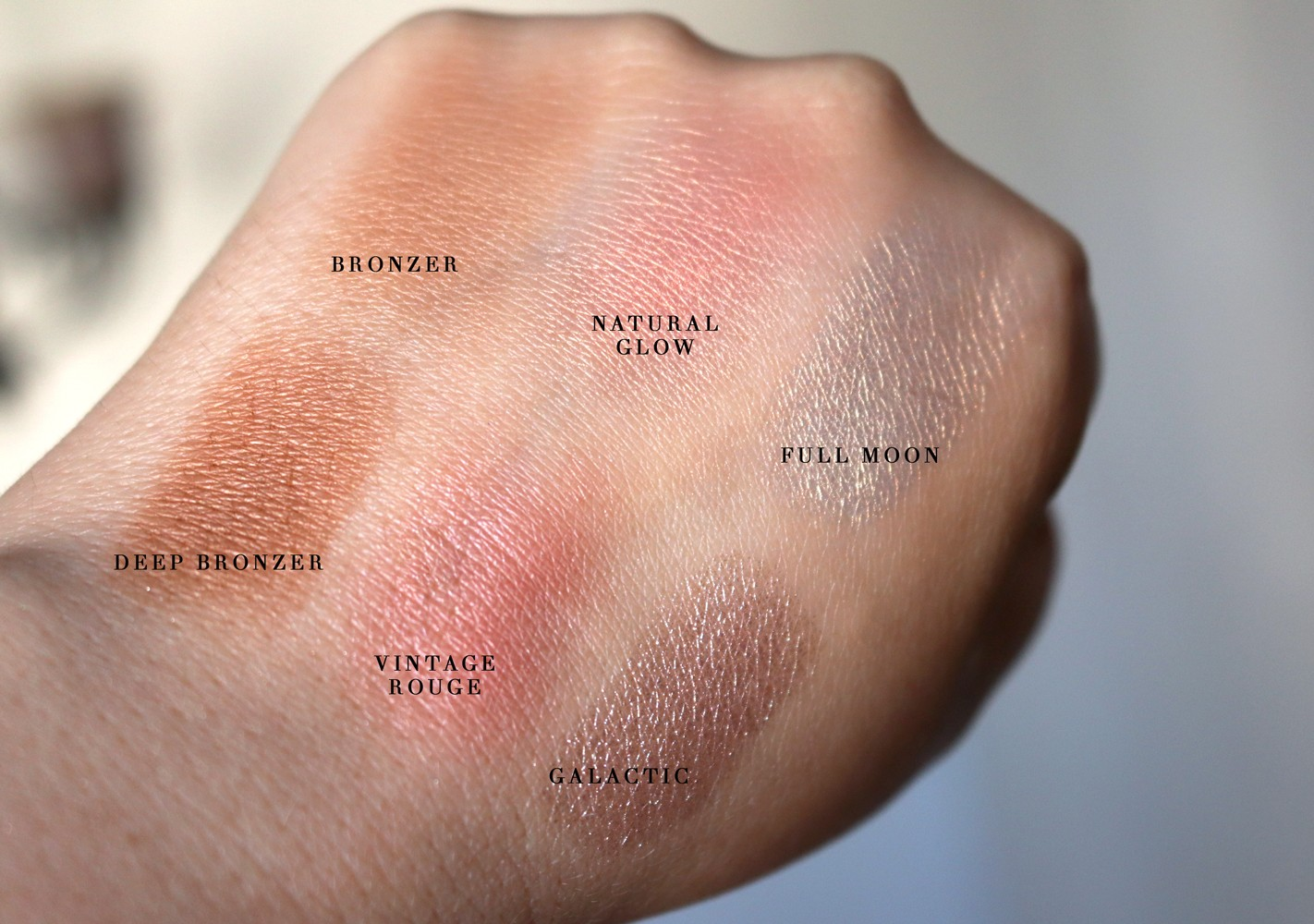 Physicians Formula Butter Collection Swatches