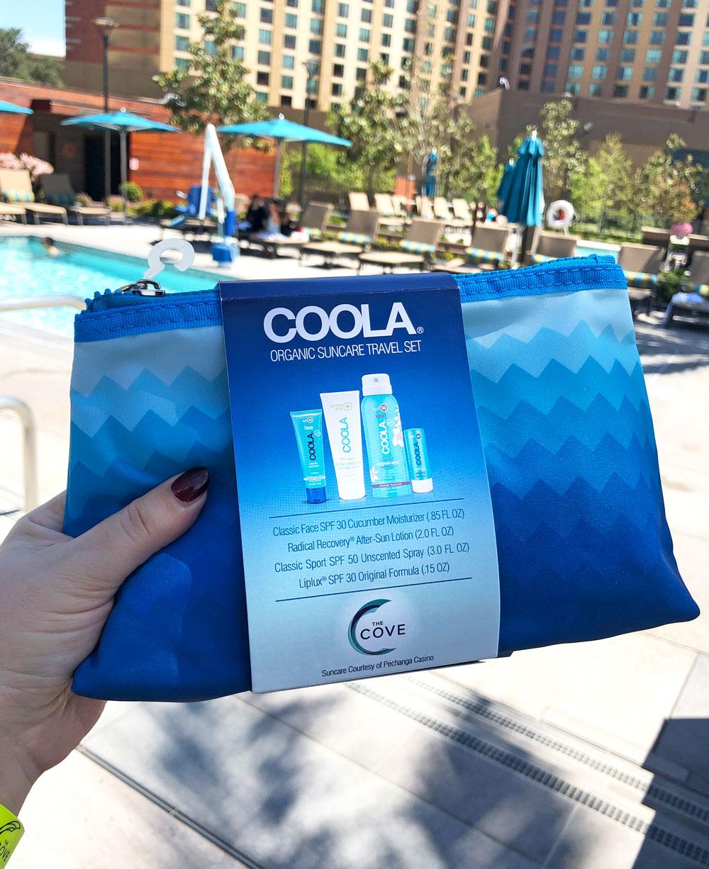 COOLA Organic Suncare Travel Set at The Cove Pechanga