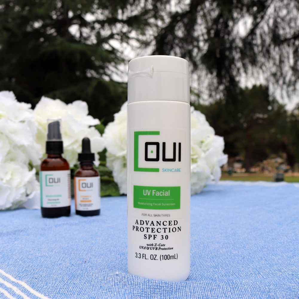 COUI Skincare UV Facial SPF 30 Review by popular Los Angeles beauty blogger My Beauty Bunny