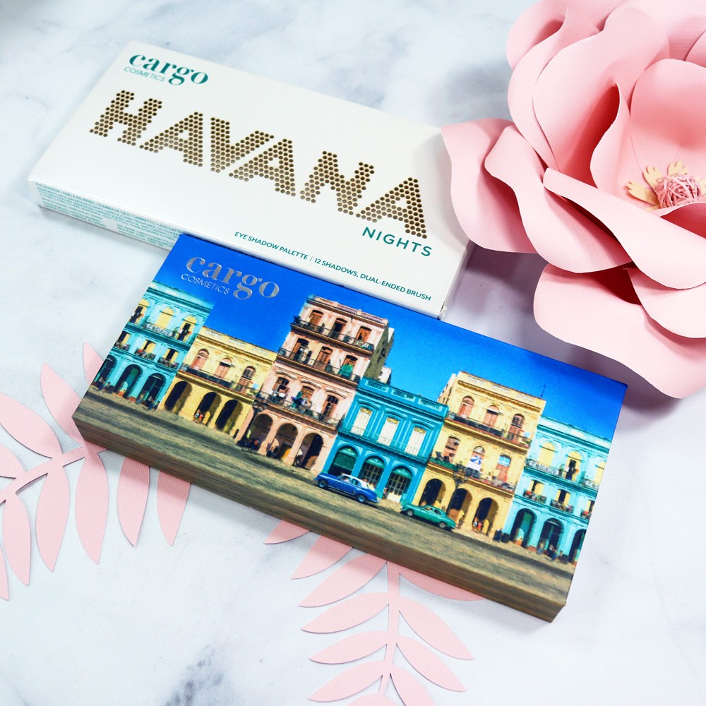 Cargo Havana Nights Cruelty Free Eyeshadow Palette Review by Los Angeles Beauty Blogger, My Beauty Bunny