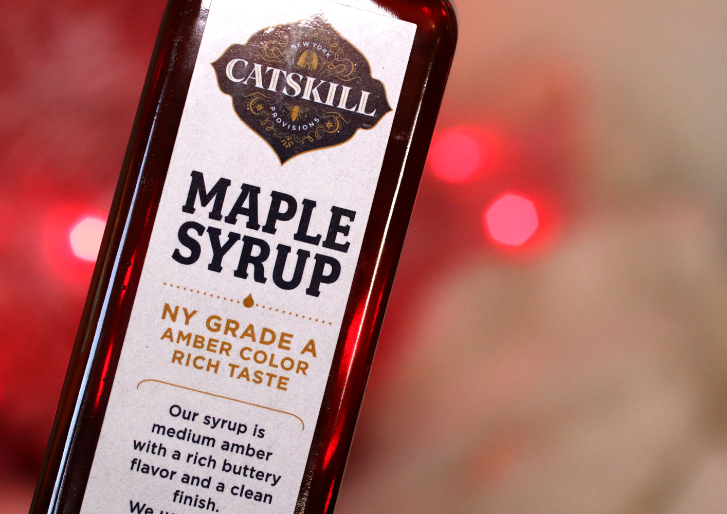Woman Owned Holiday Gift Guide 2019 - Catskill Provisions maple syrup foodie gifts