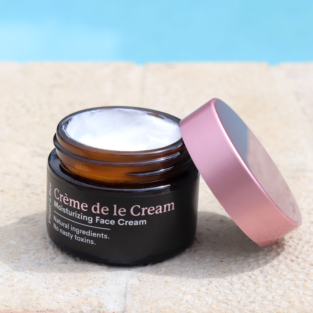 Creme de la Cream Fleur and Bee Moisturizing Face Cream Review