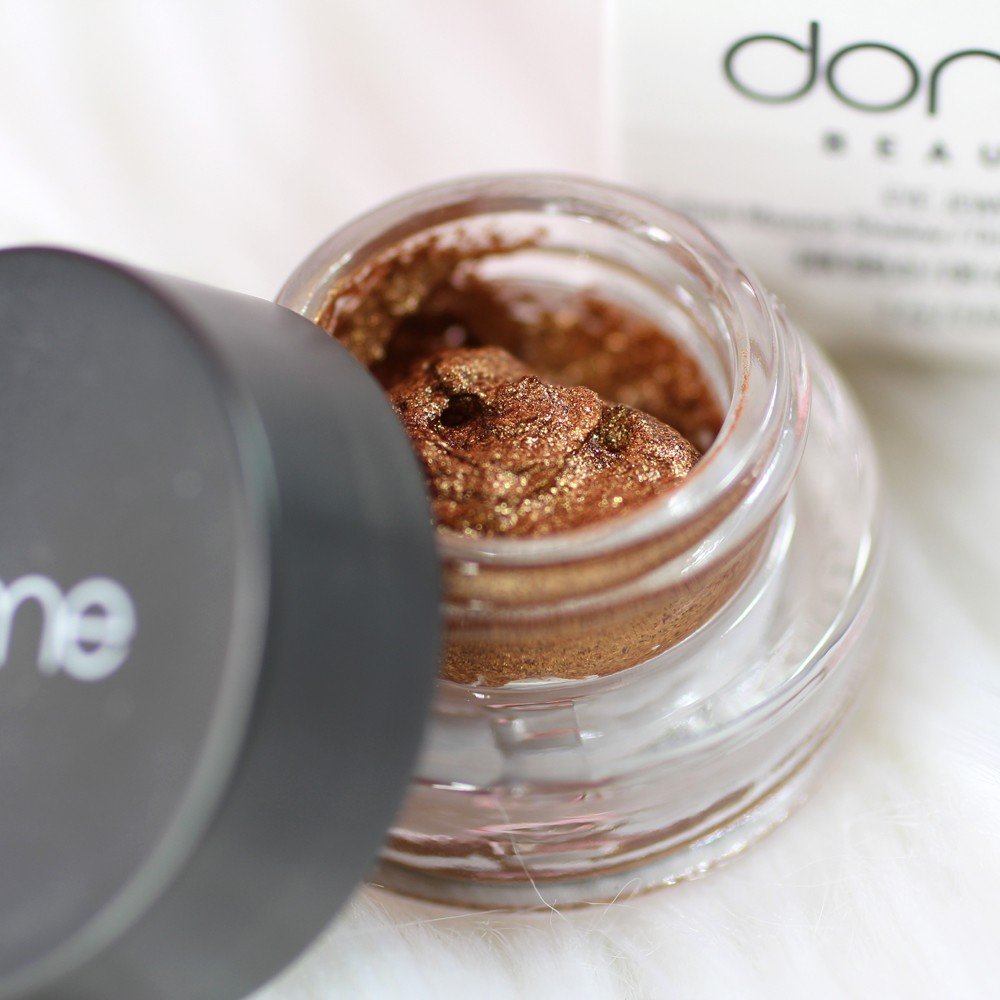 Dome Cosmetics Cruelty Free Gold Mousse Eyeshadow 24K Gold