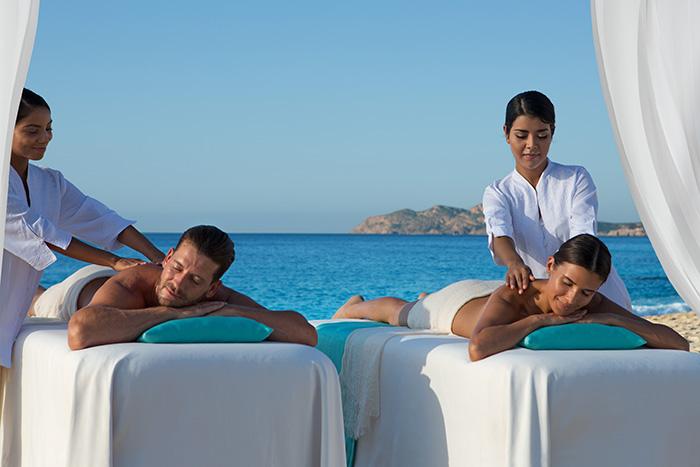 Dreams Los Cabos Suites Golf Resort & Spa Mexico Vacation Couples Massage at the Spa