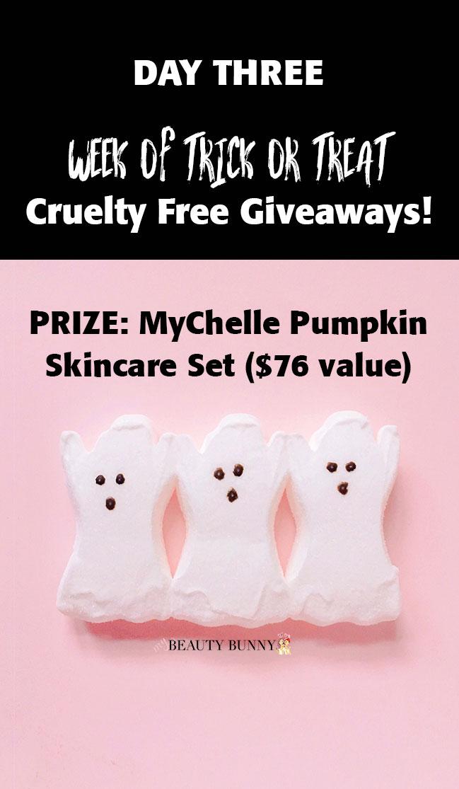 MyChelle pumpkin skincare giveaway
