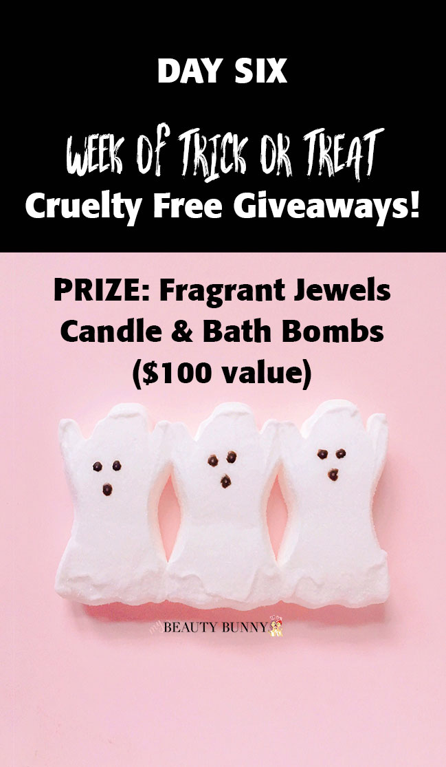 Fragrant Jewels candle and bath bomb giveaway