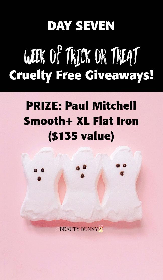 Paul Mitchell flat iron giveaway