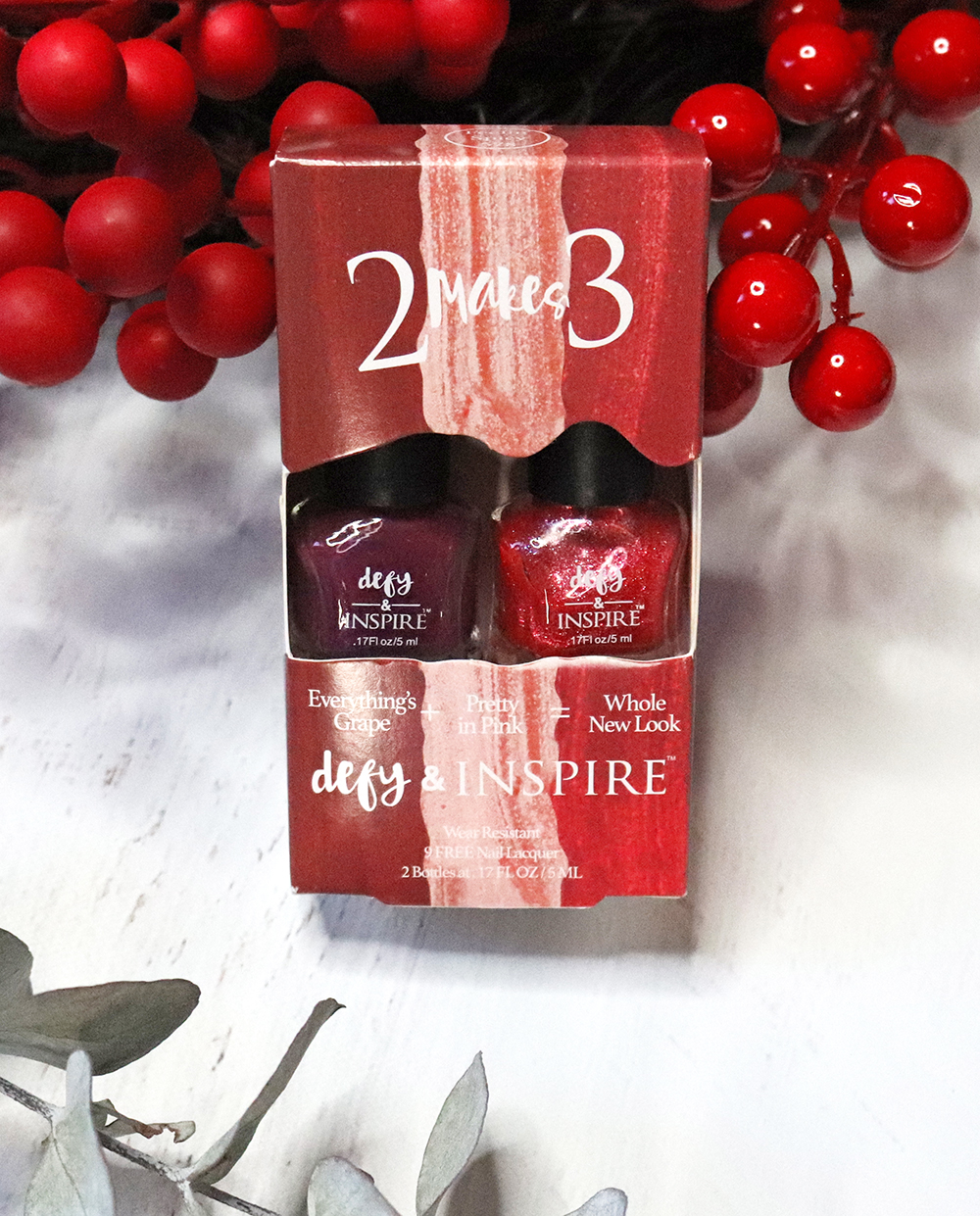 Cruelty Free Holiday Gift Guide 2020 - Defy & Inspire 2 Makes 3 gift set