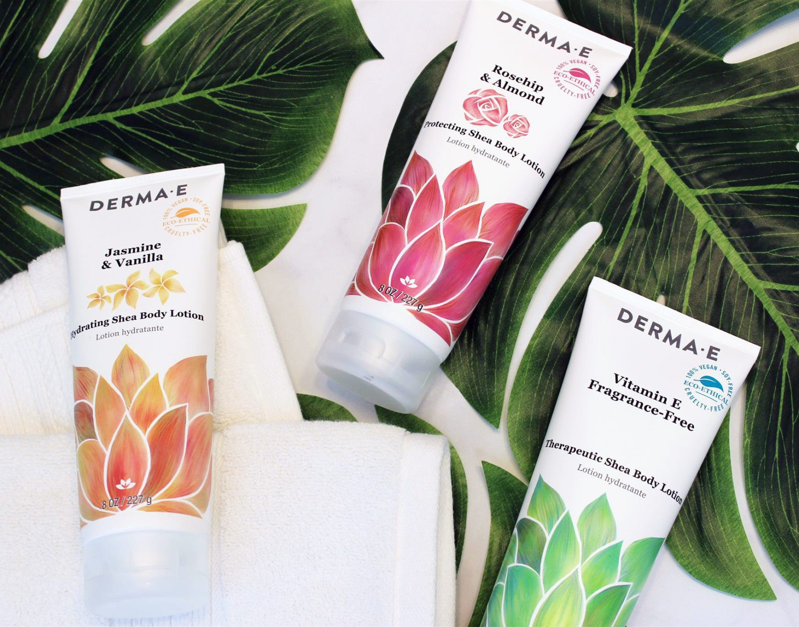 Derma E - Cruelty Free and Vegan Body Lotion Review - Derma E Vegan and Cruelty Free Vegan Body Lotion Review by Los Angeles Beauty Blogger My Beauty Bunny