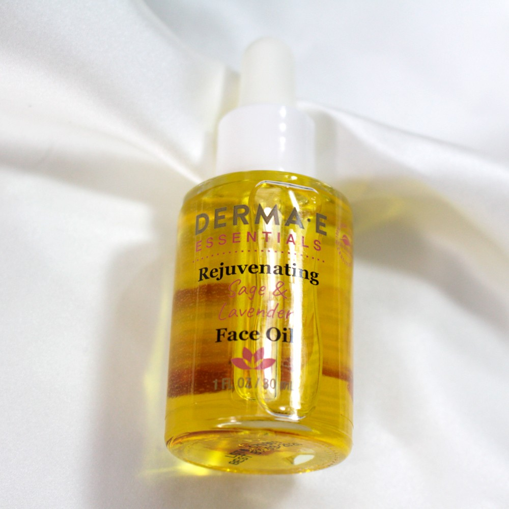 Derma E Rejuvenating Sage and Lavender Face Oil Review