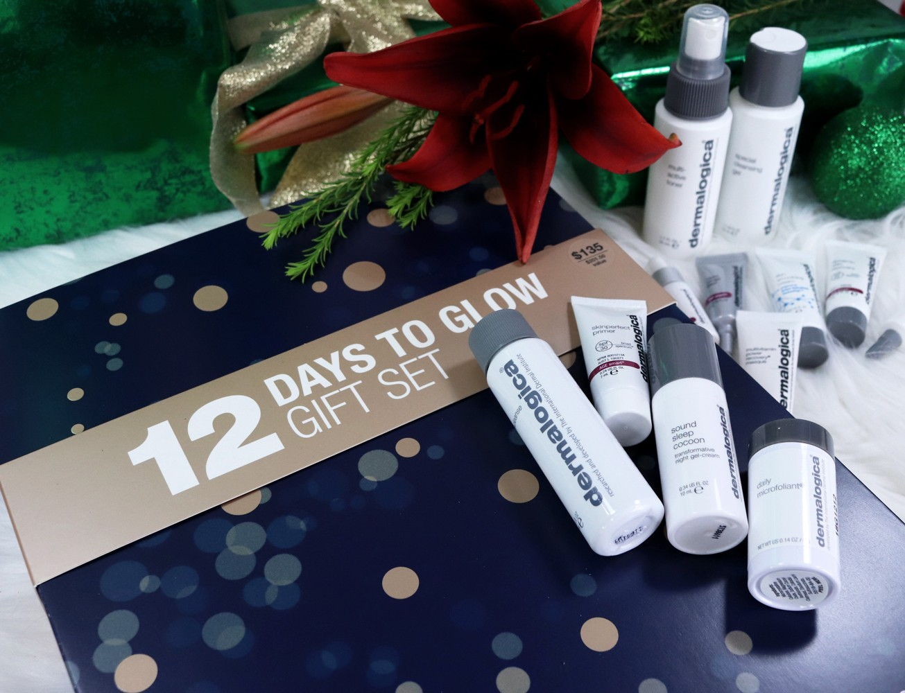 Cruelty Free Holiday Gift Guide - Dermalogica 12 Days to Glow Gift Set