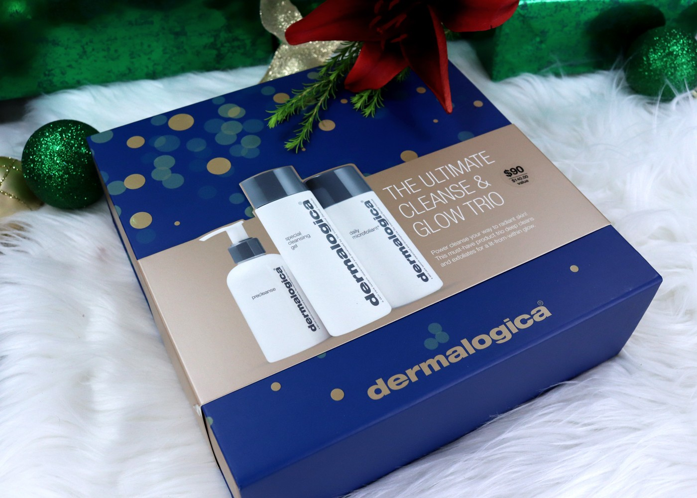 Cruelty Free Holiday Gift Guide - Dermalogica Ultimate Cleanse and Glow Gift Set