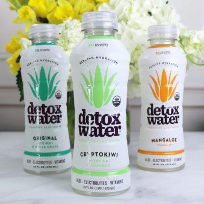 Detox Water Low Sugar Aloe Health Drink